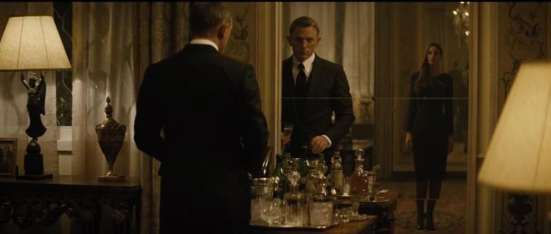 That's quite a suit, Mr. Bond.