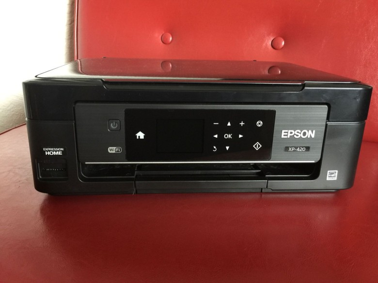 Epson Expression XP-420 all-in-one wireless inkjet printer