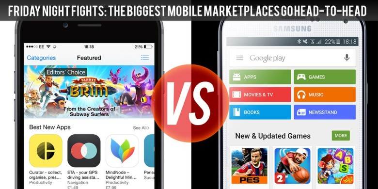 App Store vs  Google Play: What's hot and what's not? | Cult of Mac