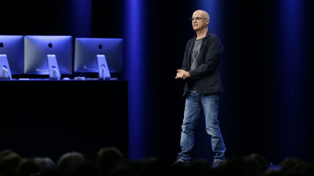 Jimmy Iovine talks up Apple Music at WWDC 2015.