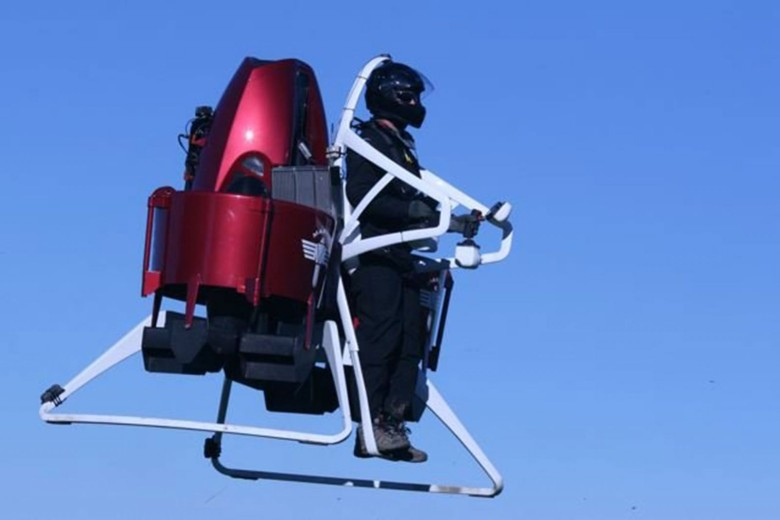 First responders could be flying in and out of hot spots with the Martin Jetpack by next year.