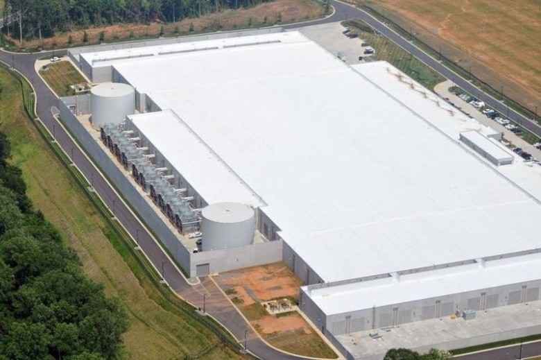Apple's Maiden North Carolina data center.
