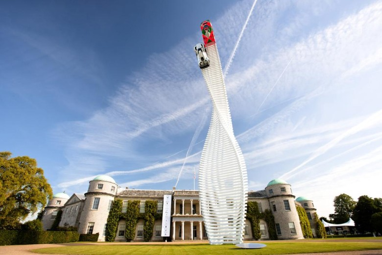 The Goodwood Festival is a celebration of racing and hill climbs.