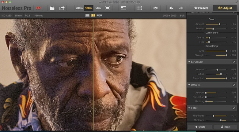 Pixelated pictures? Eliminating noise takes just one click | Cult of Mac