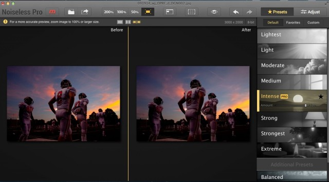 Pixelated pictures? Eliminating noise takes just one click   Cult of Mac