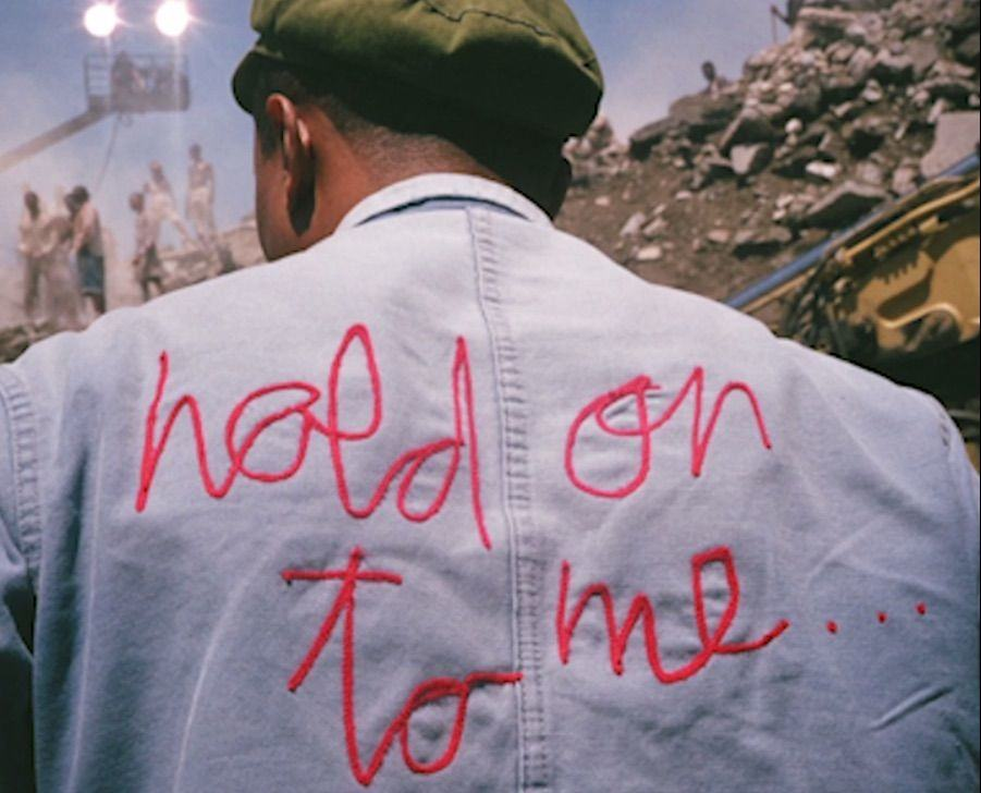 Pharrell launched his latest jam on Apple Music.