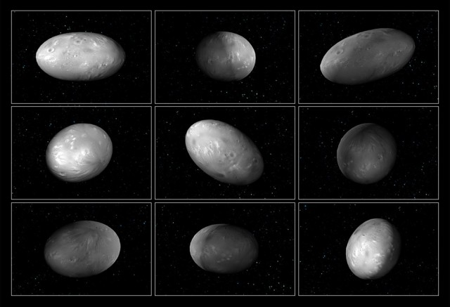 Pluto Moons Nix And Hydra S: Hubble Finds Football-shaped Moons In The End Zone Of Our