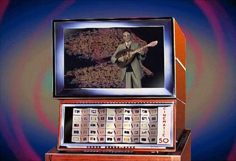 The Scopitone was a kind of video jukebox that had a brief life in the United States 17 years before music videos were the rage.