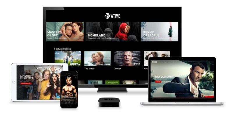 You can now stream Showtime without cable