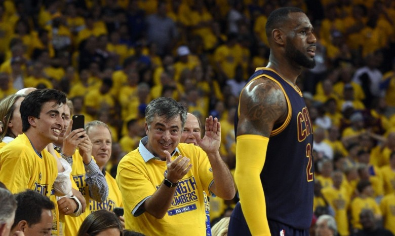 Eddy Cue isn't cheering for Lebron this year.