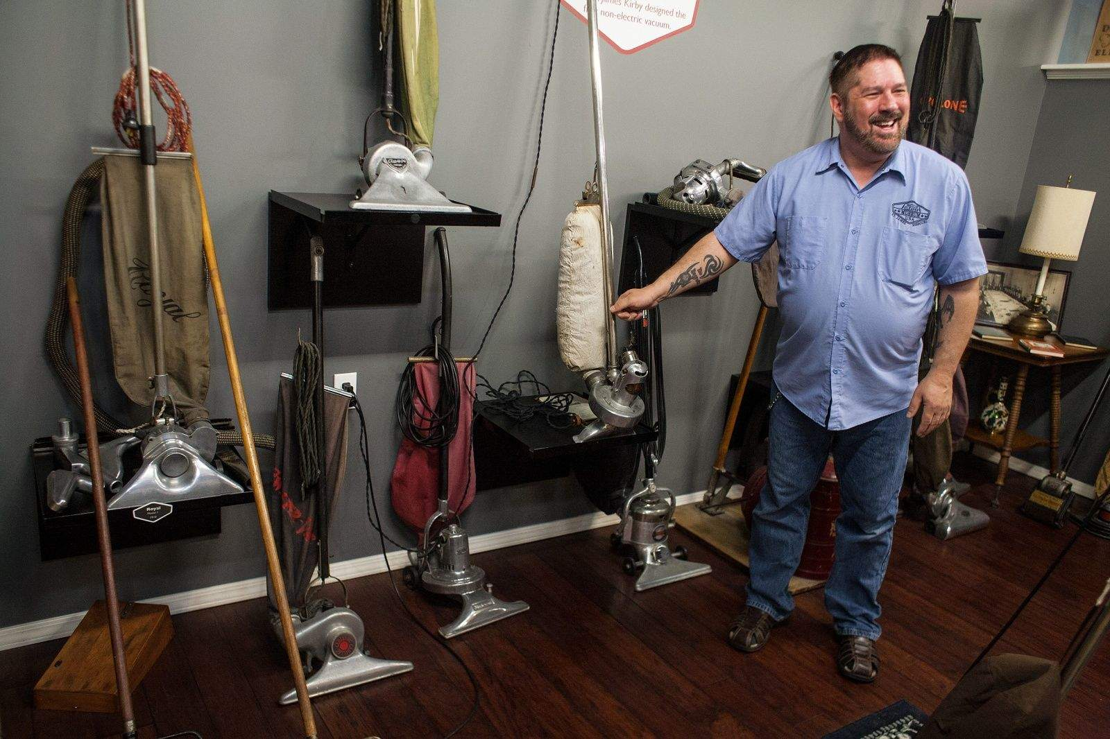 Tom Gasko Is The Curator Of Vacuum Cleaner Museum He Owns At Least One
