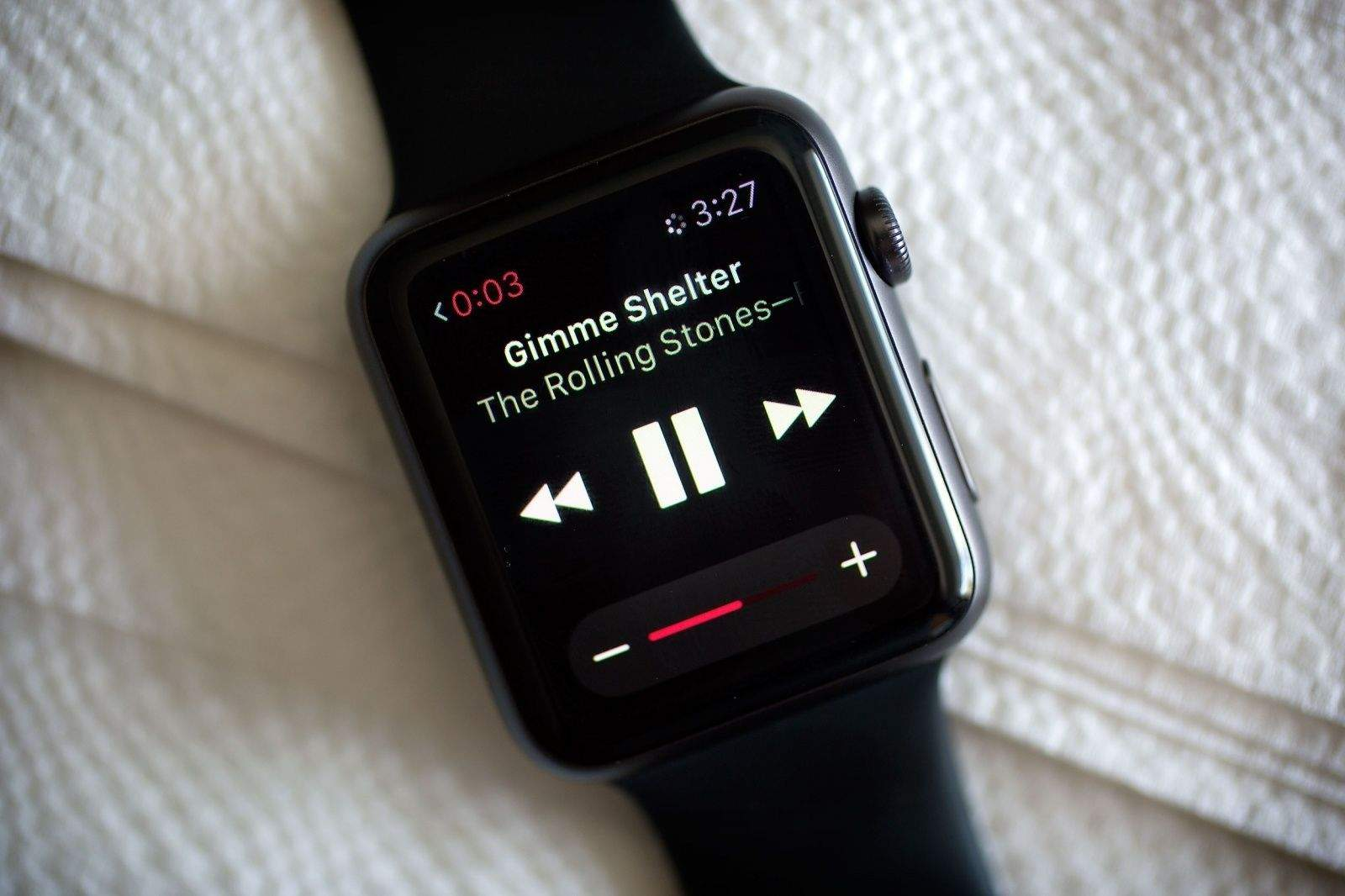 Apple Watch is doing just fine, thank you.