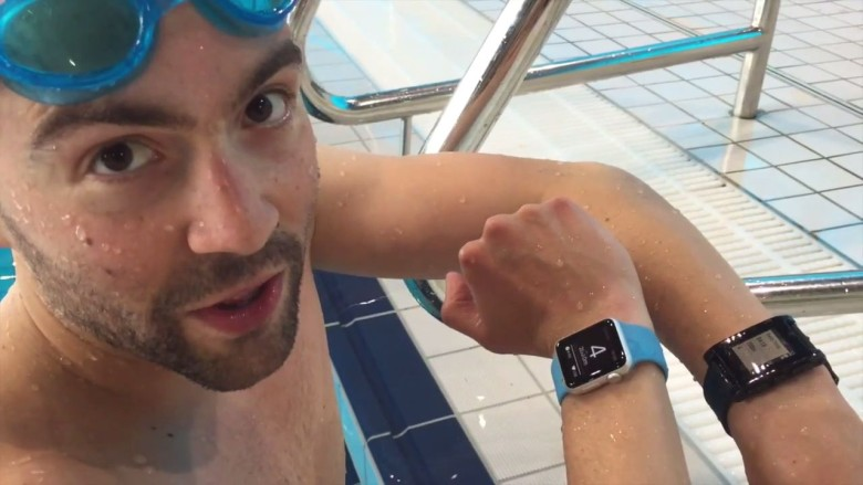 Apple Watch swimming app