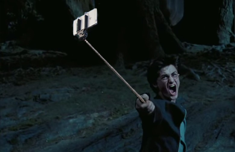 Harry Potter and the Prisoner of Azkaban selfie stick