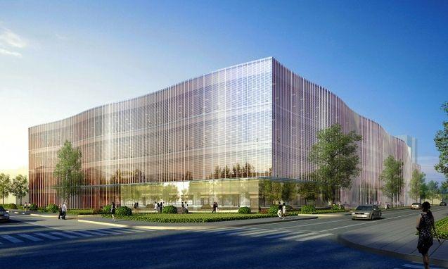 Apple's shiny new Japanese R&D center.