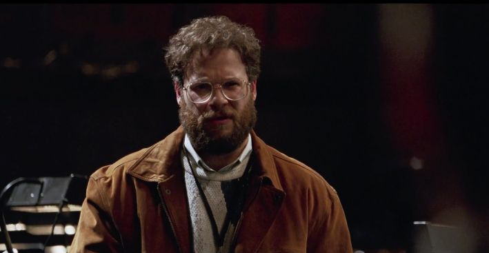 Seth Rogen plays Steve Wozniak in the forthcoming Jobs biopic.