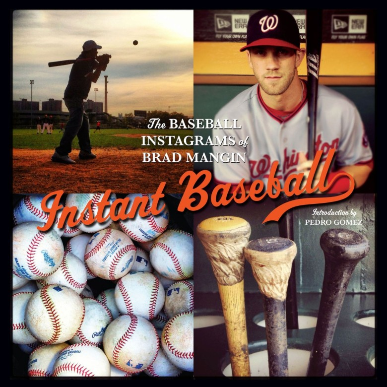 Mangin's baseball Instagram photos from the 2012 season were collected into a book.