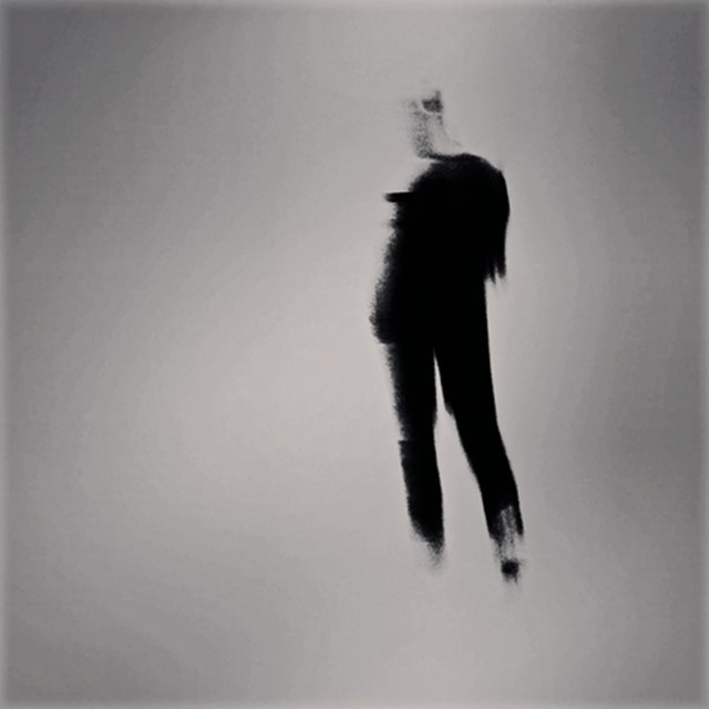 From Ó Sé's series of blurred figures.