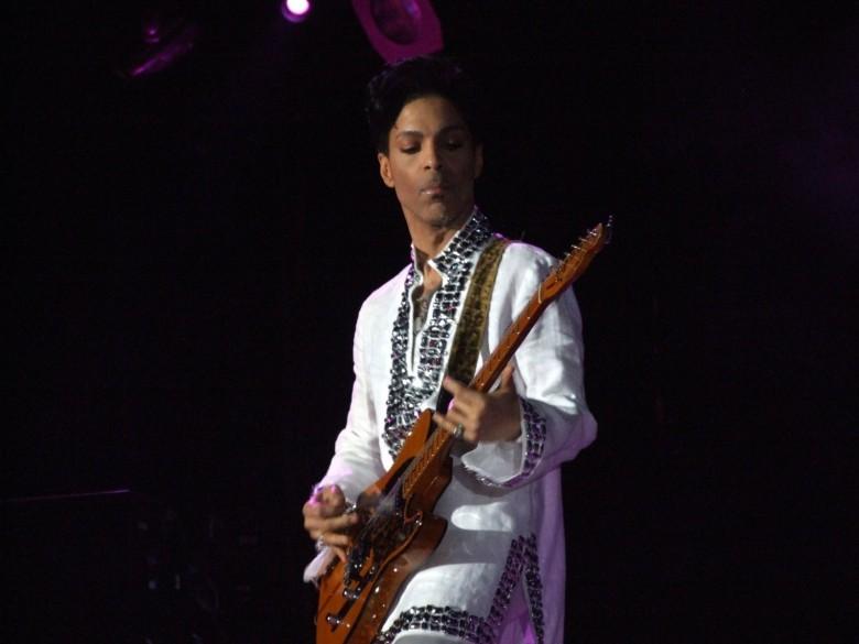 The Purple One at the Coachella Festival in 2008.