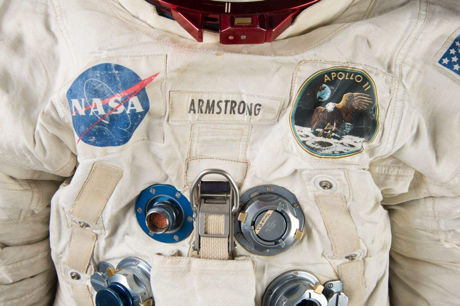 Neil Armstrong's suit needs a little preservation work before it can be displayed in 2019 for the 50th anniversary of the Apollo 11 moon landing.