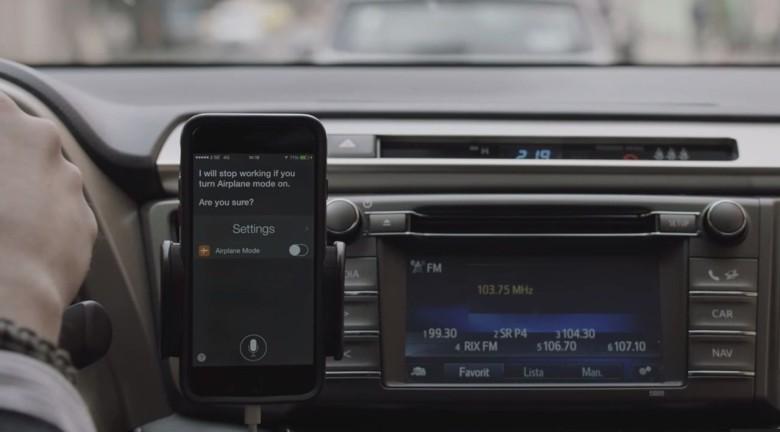 Toyota Siri radio ad