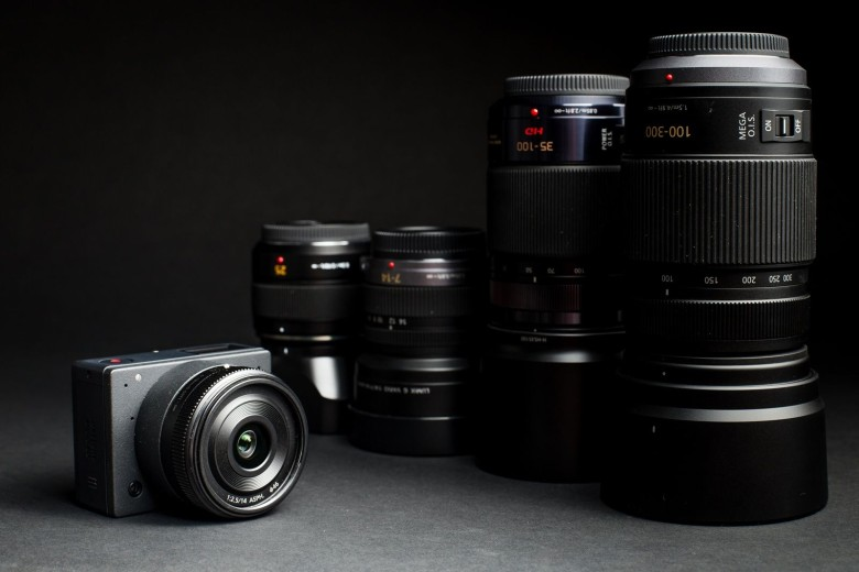 The E1 is a small Micro Four Thirds camera that shoots 4K video and fit a variety of lenses.