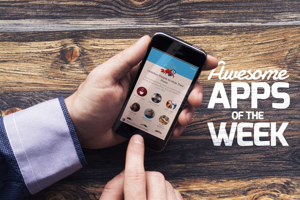 'Appy weekend everyone.As usual, that means we're counting down the top apps you may have missed from the previous 7 days -- everything from an update to a truly excellent game to a fantastic way to keep up to date with your Apple Watch.Without further ado, then, here are this week's awesome apps!
