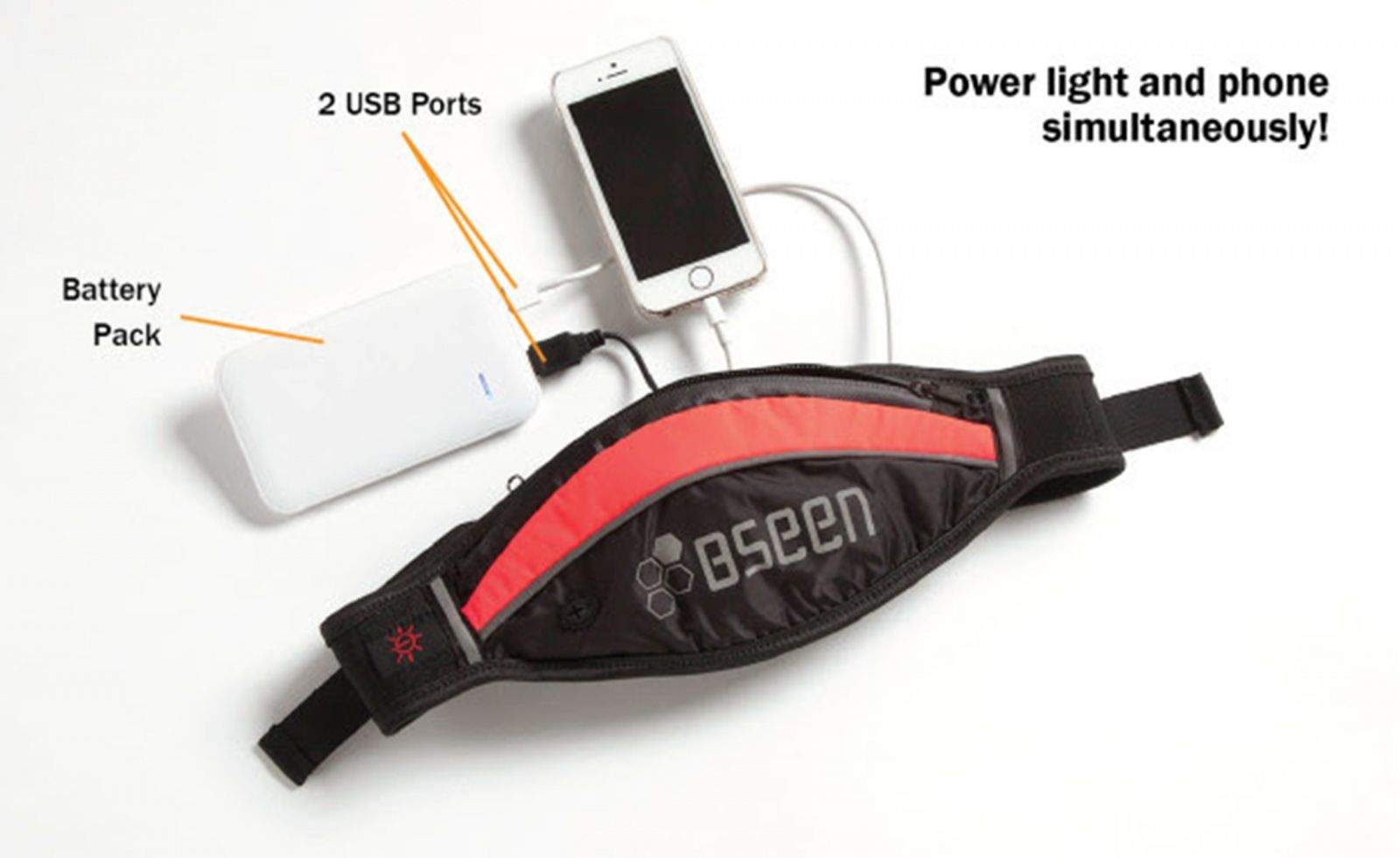 Keep yourself and your iPhone alive with the BSEEN Boost Pack.