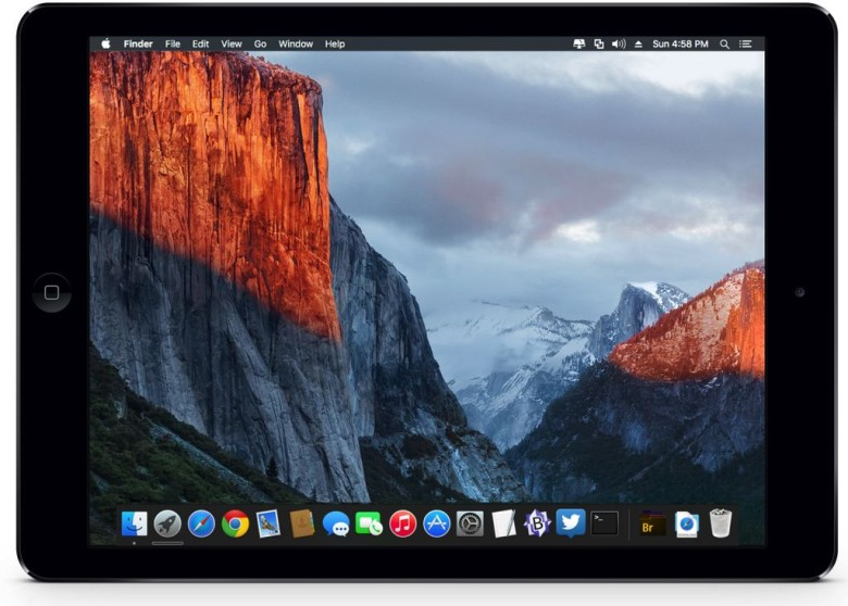 El Capitan coming to an iPad near you?