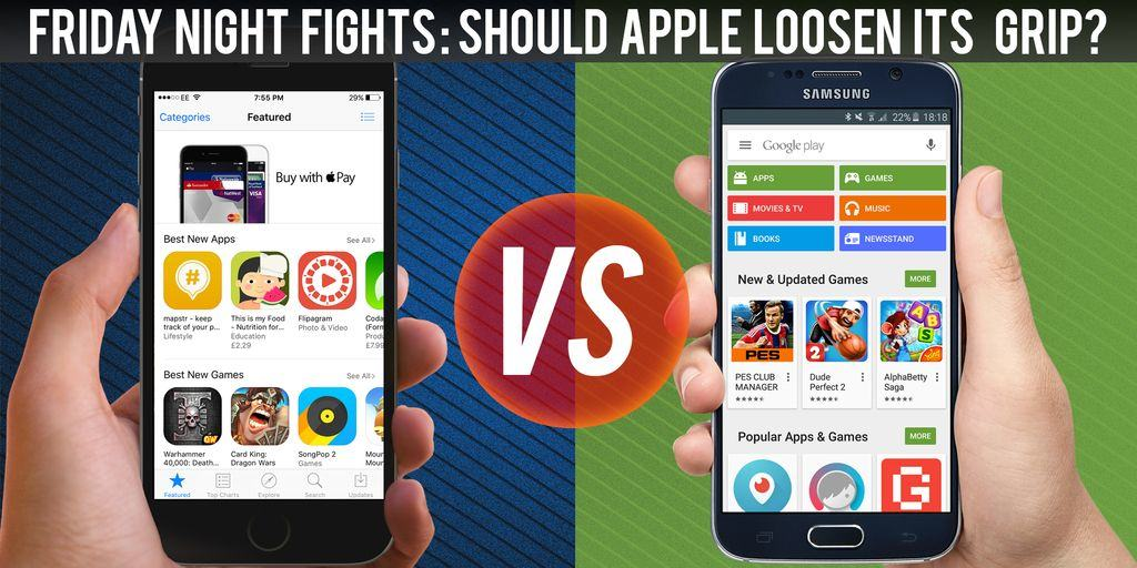 App Store vs  Google Play: Is it time Apple stopped being a