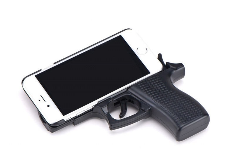 Should you really encase your iPhone in something that looks like a weapon.?