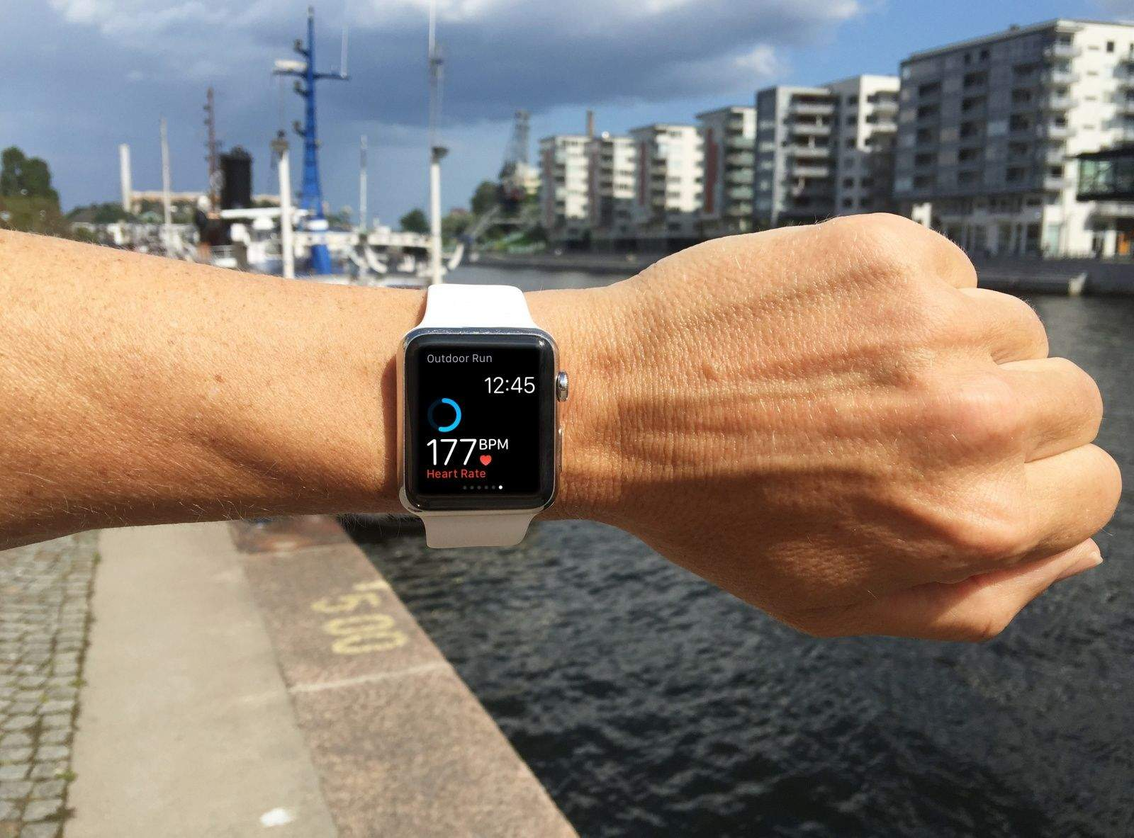 Use the heart rate sensor to find your race pace.