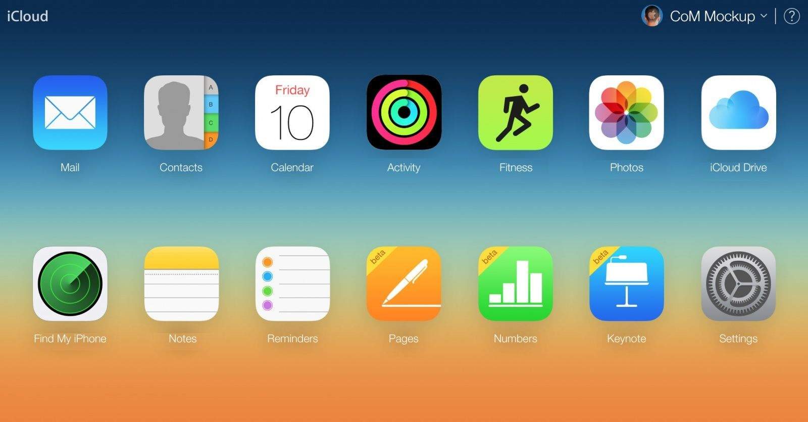 Adding Fitness and Activity to iCloud.com would make it easier to browse your workout data.