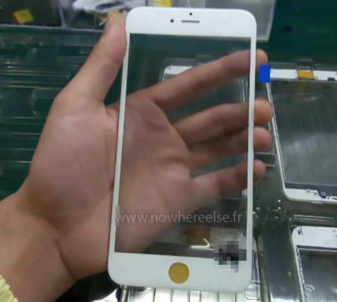 Is this our first look at the iPhone 6s screen?