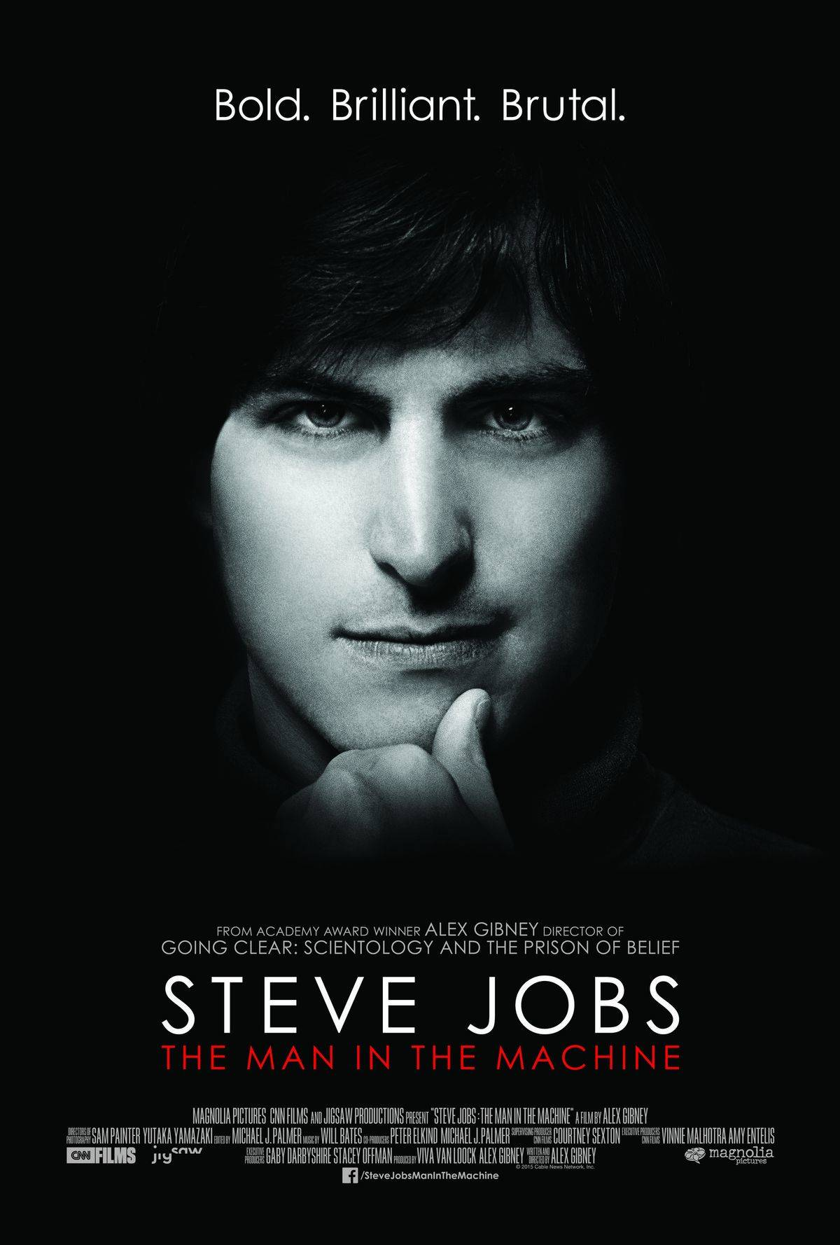 Alex Gibney's Steve Jobs documentary opens Sept. 4th.