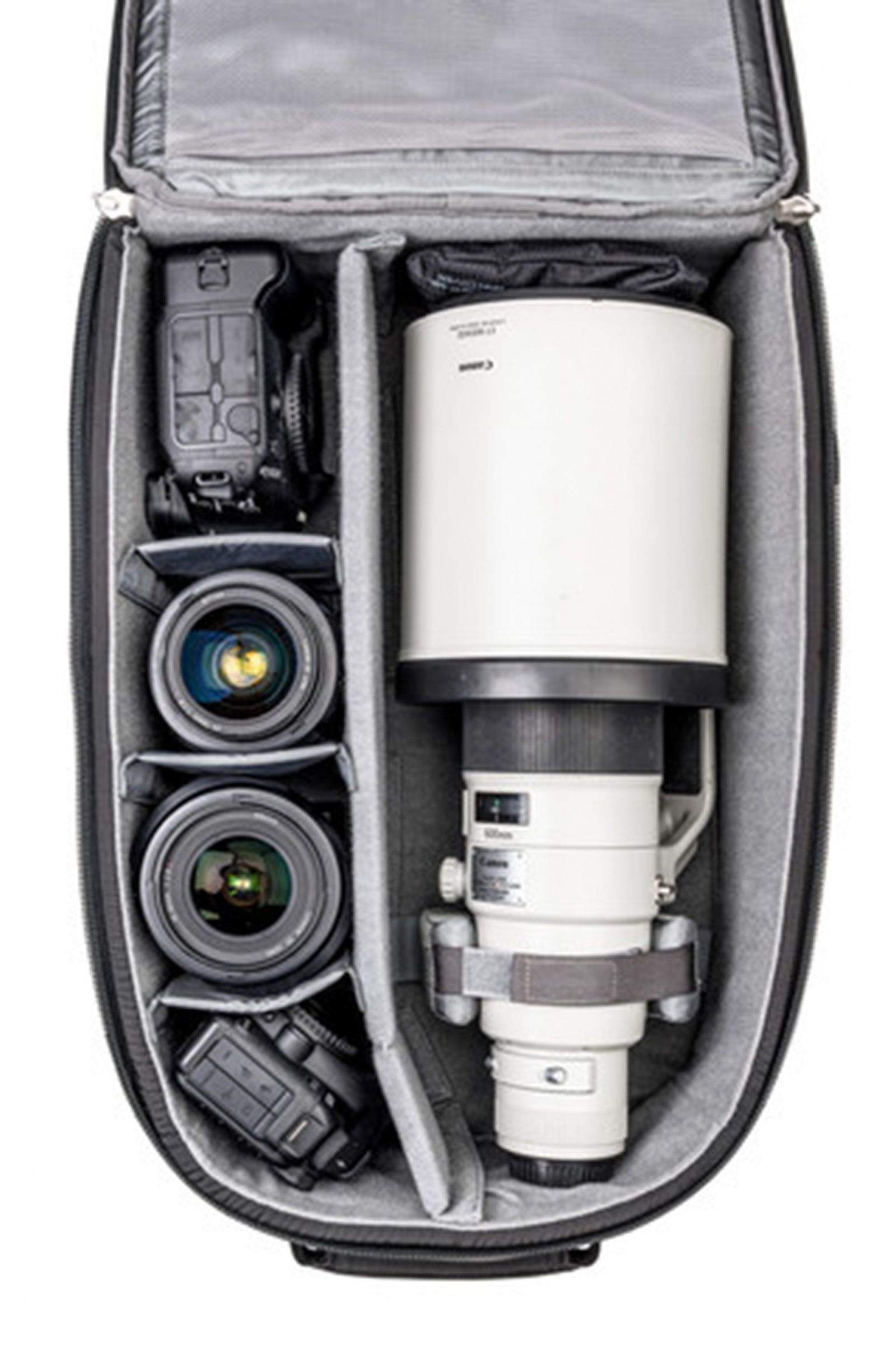 The FirstLight 40L Can Handle A 12 Pound 600 Mm F/400 Lens As