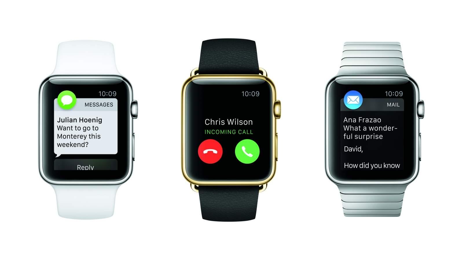 Apple Watch notifications siri