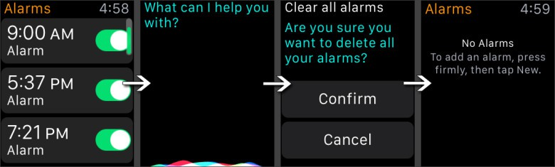 How to clear your Apple Watch alarms with Siri