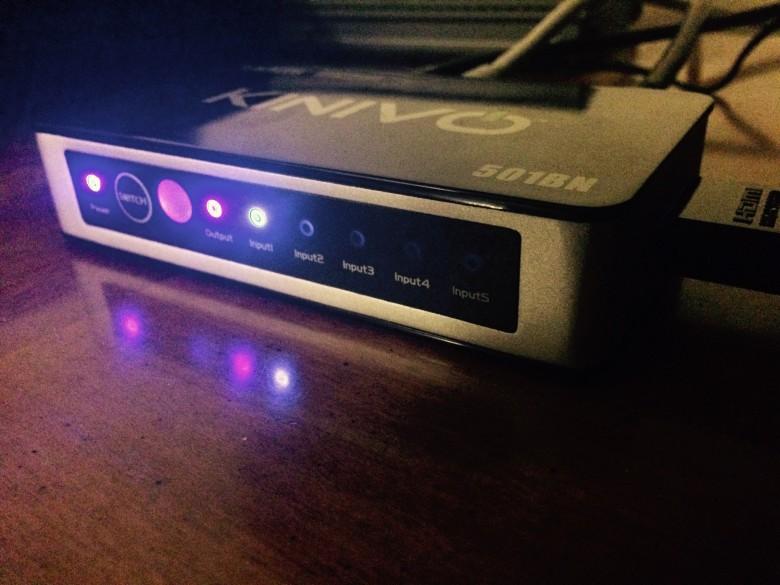 Kinivo 5-port HDMI switch
