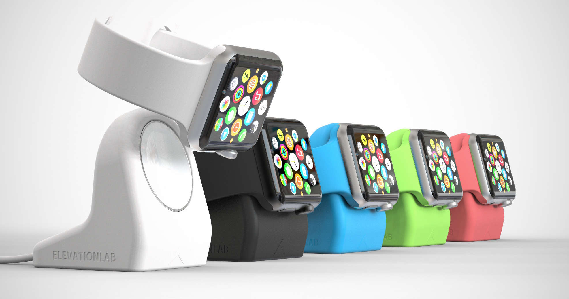 NightStand is the first third-party Apple Watch accessory in Apple Stores.