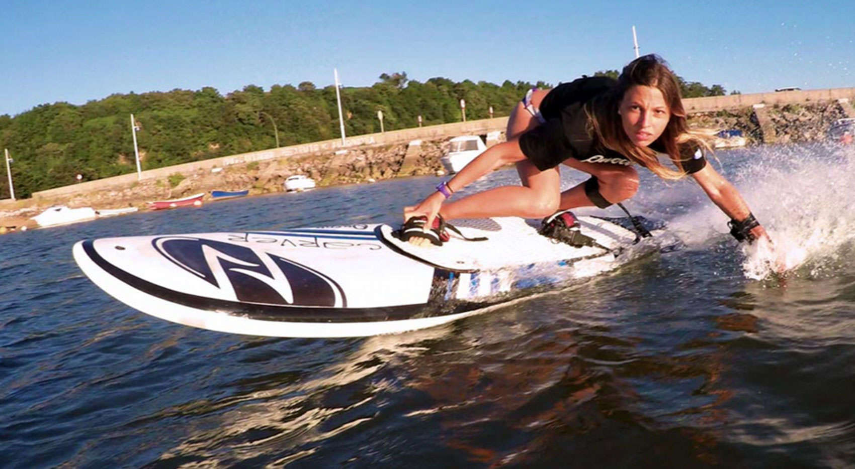 The Carver, by Onean, lets you surf on any body of water.