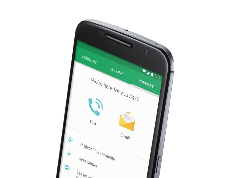 Google's just getting started with Project Fi.