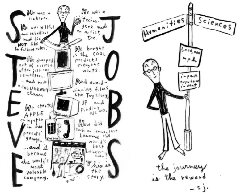 Steve Jobs' life gets sequential in new graphic novel Steve Jobs: Insanely Great.