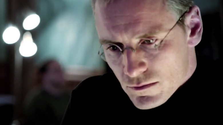 Michael Fassbender as Steve Jobs.