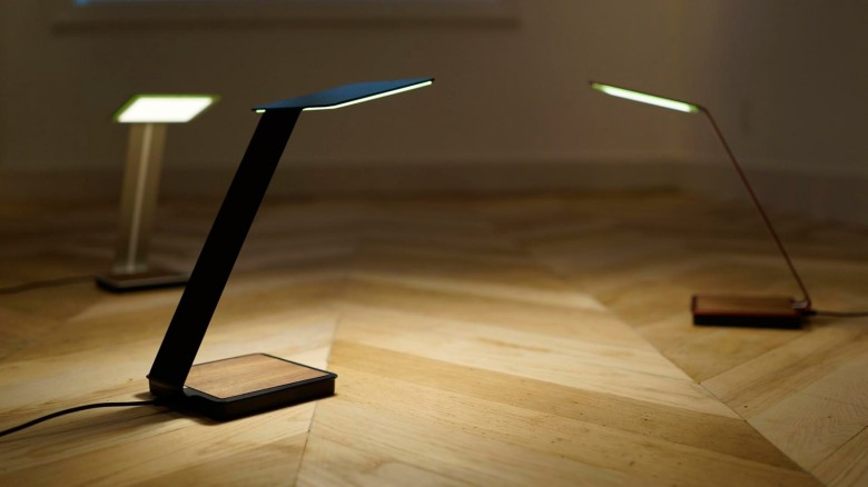 Oled Table Lamp Casts A Bright Light On The Future