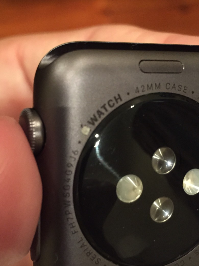 More apple logo issues with the Apple Watch