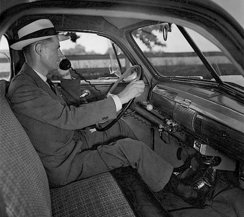 The first mobile phones were car phones. Call quality was superb (if you could get a channel).