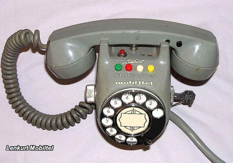 A handset from 1960.
