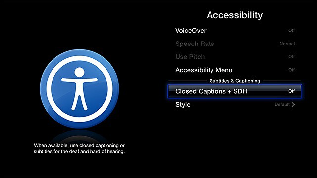 How to enable apple tv subtitles cult of mac how to enable subtitles on apple tv ccuart Images