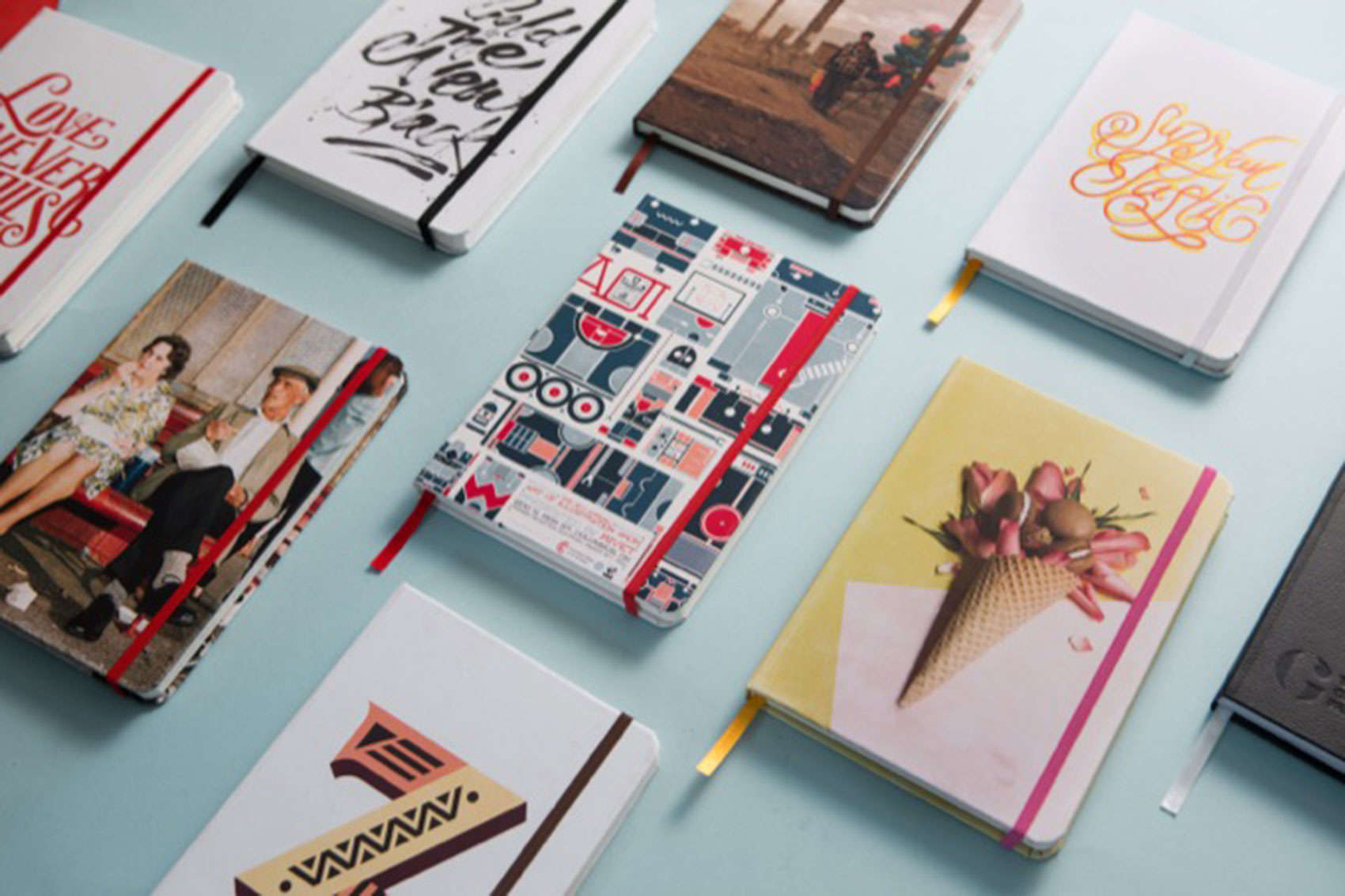 Custom design your own notebooks with Book Block.